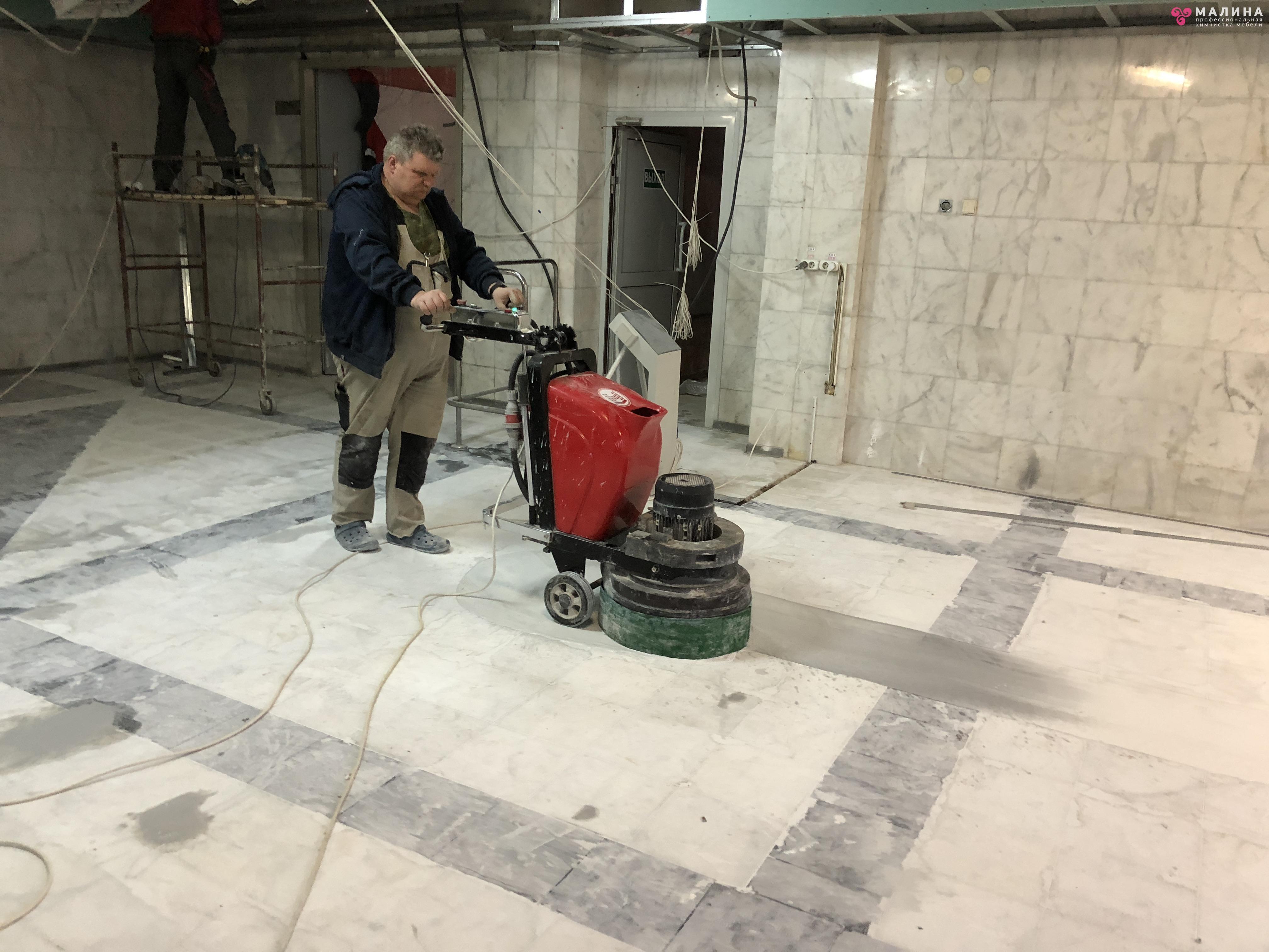 Полировка бетона цена за м2 москва гранитный щебень или гравий на бетон