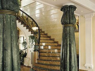 Шлифовка и полировка лестниц